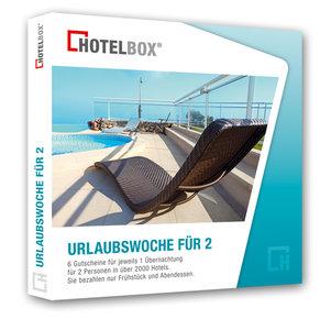 """Hotelbox """"Urlaubswoche für 2"""""""