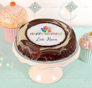 Persönliche Happy Birthday Torte