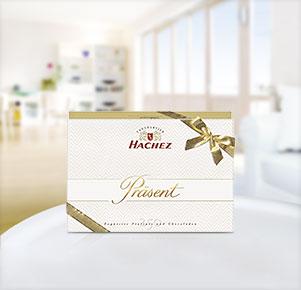 """Hachez Präsent """"Exquisite Pralinés"""""""