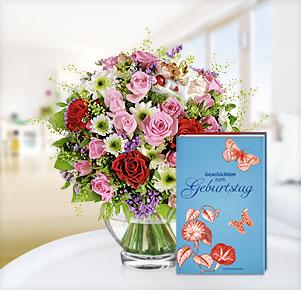 """Schutzengel mit Buch """"Geschichten zum Geburtstag"""""""