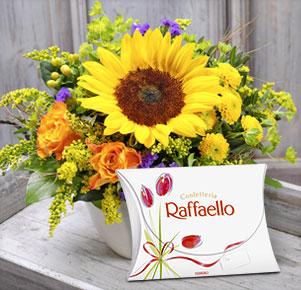 Sonnengruß mit Raffaello Pochette