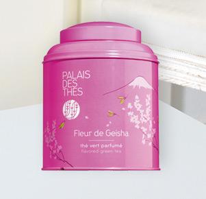 Aromatisierter Grüntee 'Fleur de Geisha' von Palais Des Thés