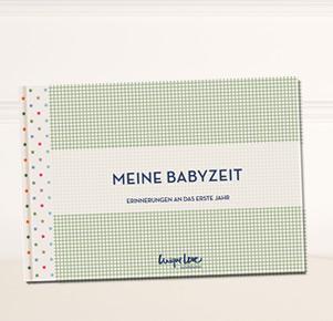 Erinnerungsalbum 'Meine Babyzeit' von Bellybutton