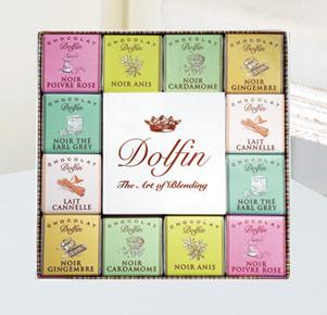 Feinste Schokoladen Carré Épices von Dolfin