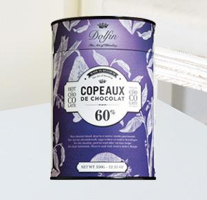Dolfin Trinkschokolade Copeaux de Chocolat 60%