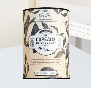 Dolfin Noir e Blanc, Trinkschokolade 350g