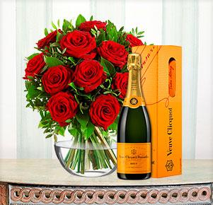 Romantico mit Veuve Clicquot (0,75 l)