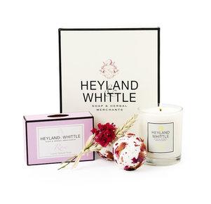 """Wellness Geschenkset """"Neroli & Rose"""" von Heyland & Whittle"""