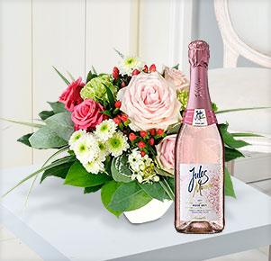 Zarte Liebe mit Jules Mumm Rosé, Medium Dry (0,75l)