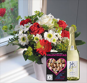 "Only for You mit DVD ""Valentinstag"" und Sekt Jules Mumm (0,75l)"