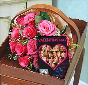 """Pink Magic mit DVD """"zum Valentinstag"""""""
