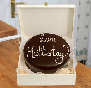 """Schokoladentorte nach Sacher Art """"Zum Muttertag"""", 800 g"""