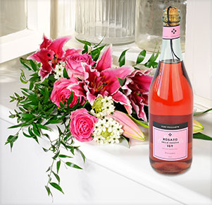 Lily rosé mit Rosato IGT Frizzante, Rosé,  0,75l