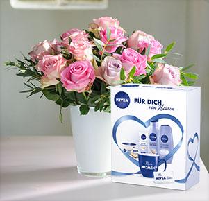 """Rosenvielfalt mit Nivea """"Für Dich von Herzen"""""""