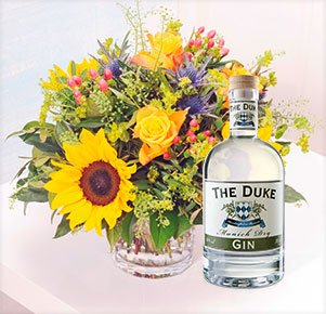 Sonnenbad mit The Duke Munich Dry Gin