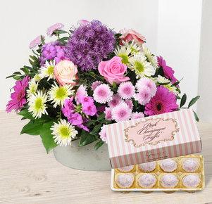Blütenzauber mit Pink Champagne Truffes