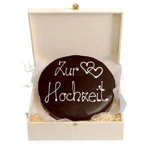 """Schokoladentorte nach Sacher Art """"Zur Hochzeit"""", 800 g"""