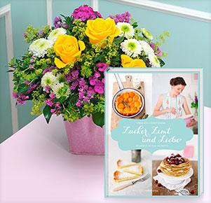 Sommerfrische mit Backbuch Zucker, Zimt und Liebe