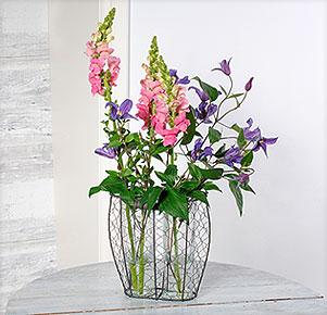 Leichtigkeit – Vasenset mit Sommerblumen