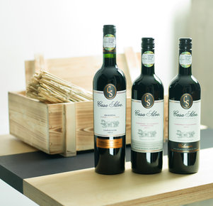 "3er Weinpaket ""Casa Silva aus der Truhe""""Winery of the year (2013)"""