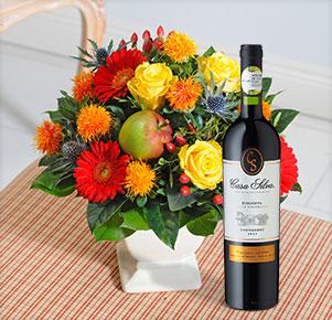 "Glückstag mit Carménère Reserva ""Cuvée Colchagua"""