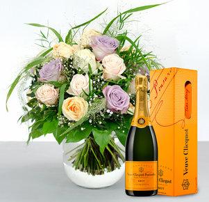 Große Liebe mit Veuve Clicquot (0,75 l)