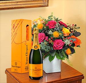 Herbstlichen Glückwunsch mit Veuve Clicquot (0,75 l)