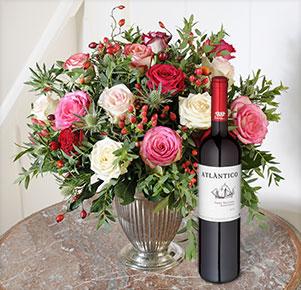 Rosenmeer mit Wein Atlantico (0,75 l)