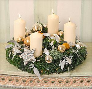 """Adventskranz """"Christmas Glam"""""""
