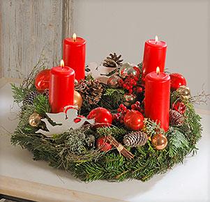 """Adventskranz """" Grande Noël"""""""