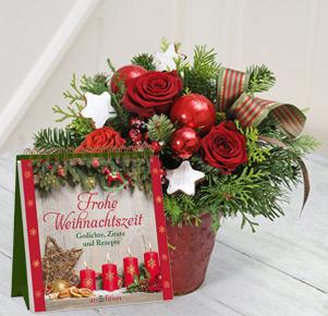 """Vorfreude mit Auftstellbuch """"Frohe Weihnachtszeit"""""""