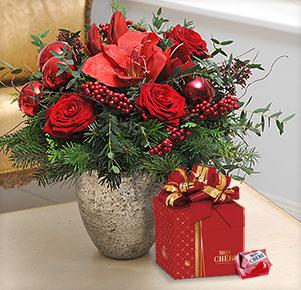 Weihnachtsfest mit Mon Chéri Mini Geschenkbox