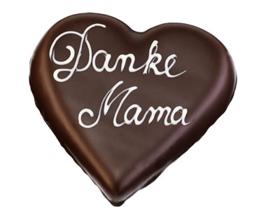 "Marzipanherz ""Danke Mama"", 125 g"