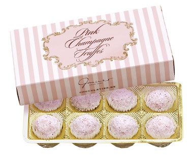 Pink Champagne Truffes, 90 g