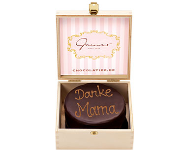 "Feine Mini Sachertorte ""Danke Mama"", 200 g"