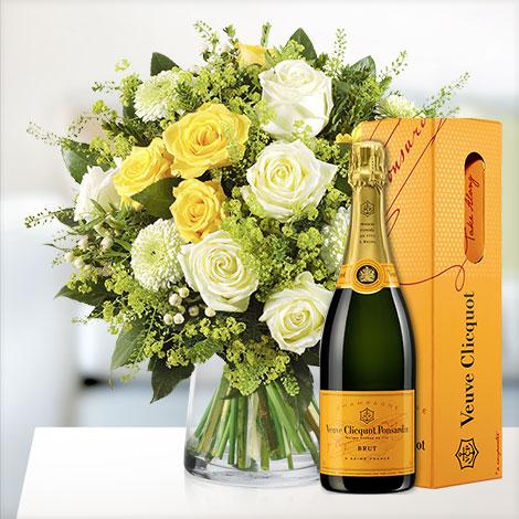 Sonnentag mit Veuve Cliquot Champagner