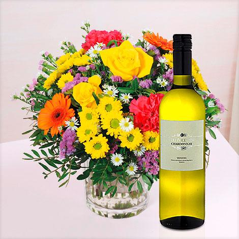 Sommerpracht mit Chardonnay