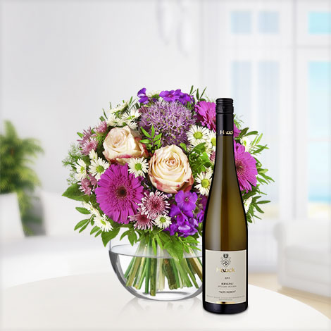 Blütenzauber mit Riesling Hauck