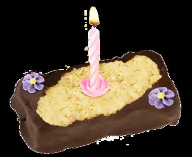 Geburtstagstörtchen mit Kerze 75 g
