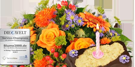 Celebration mit Geburtstagstörtchen
