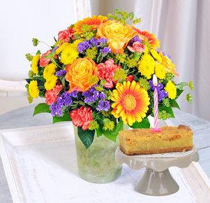 Happy Birthday mit Geburtstagstörtchen