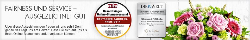 Fairness und Service - Ausgezeichnet gut