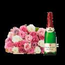 Rosengrüße mit gratis Rotkäppchen Sekt Von mir für Dich von Herzen