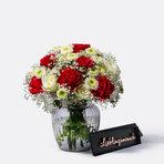 Blumenstrauß  Only for You mit Schriftzug Lieblingsmensch