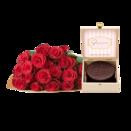 Edelrosen Rhodos mit Valentinstag  Sachertorte