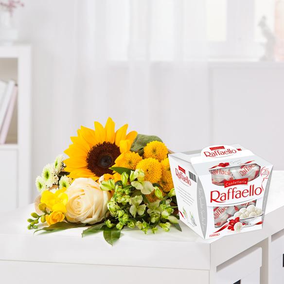 Wiesenstrauß  Sonnenkind mit Raffaello
