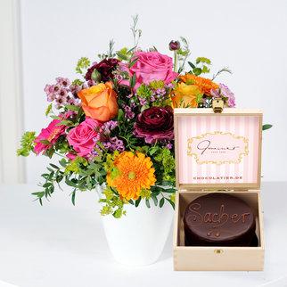 Happy Birthday to You mit Mini Sacher Torte