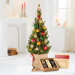 Weihnachtsbaum New York City Christmas mit Chocri Winter Weltreise