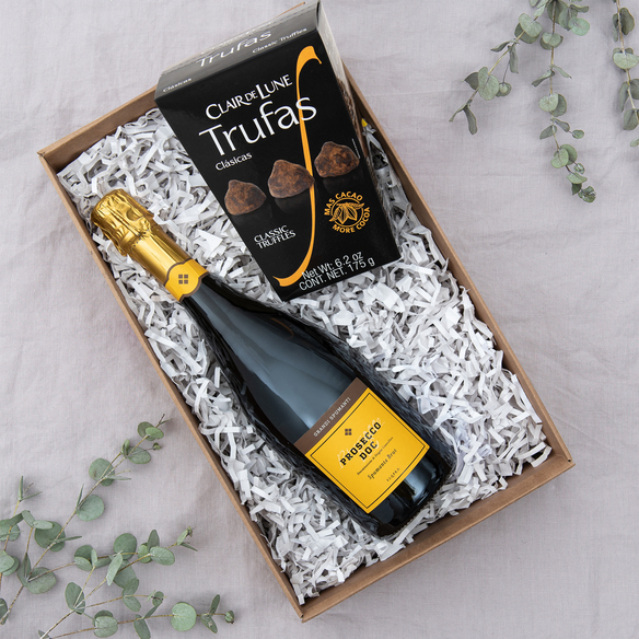 Geschenkset  Prosecco & Trüffel