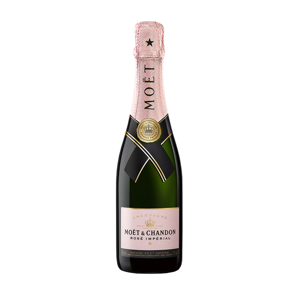 Wiesenstrauß  Freude für Dich mit Champagner Moët Rosé